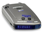 """Escort Passport 8500 X50 Blue Display  The Escort Passport 8500 X50 is a radar/laser detector that provides up to 50 more range than the original Passport 8500 on the all-important bands"
