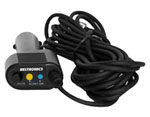 """""""Escort Straight SmartCord 12' Blue LED Brand New, The Escort 71500002 is a straight power cord used for radar detectors"""